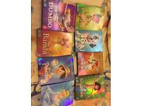 Disney Classic DVDs with covers