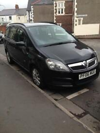 FOR SALE Vauxhall Zafira (LOW MILEAGE)