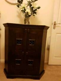 Solid Wood Corner Unit