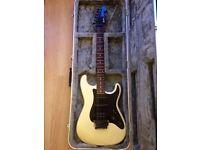 Fender 1986 E series Fuji-gen Japanese Stratocaster with Hard Black Case