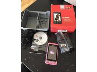 Pink LG KP500 Mobile Phone