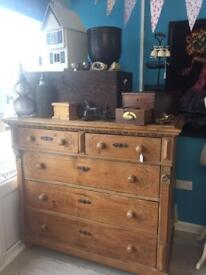 HUGE chest of drawers delivery possible