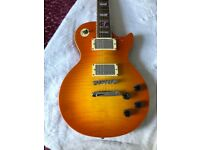 Chibson Les Paul with Gibson hardware, electronics, & pickups