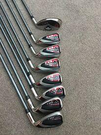 Callaway RAZR X HL golf clubs and bag