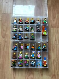 Lego Simpsons minifigures Series 1&2 Complete