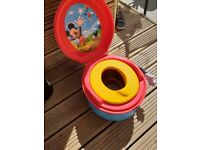 Mickey mouse first years potty NEW