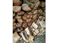 Ash & cherry firewood