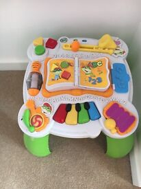 Fisher price baby table interactive