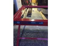 Bosch table saw stand may suit other saws
