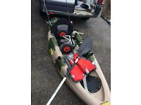 9t kayak with extras