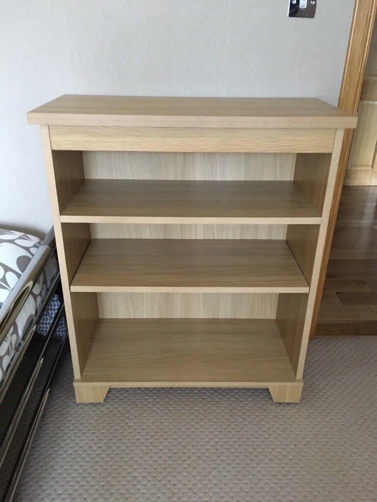 Light Oak Short Bookcase In Peterhead Aberdeenshire Gumtree