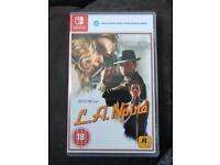 LA Noir Nintendo switch