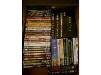 Job Lot Dvds, boxed sets, and some Blu rays