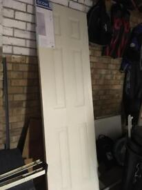 White door - brand new