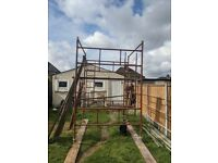 Scaffold Tower (12m High Tower - 25 Segments 1900x1000mm) used