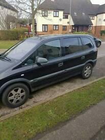Vauxhall zafira 04 plate