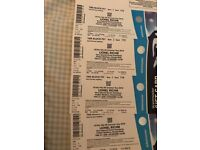 Lionel Richie Tickets x 4 seated Thurs 21st June 18 at Proact stadium Chesterfield