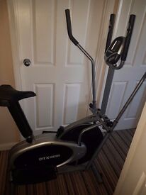 Confidence Fitness PRO 2-in-1 Elliptical Cross Trainer and Bike