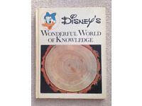 Disney's Wonderful World of Knowledge Hardback Books