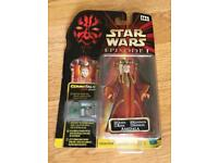 4 brand-new fully boxed Star Wars figurine