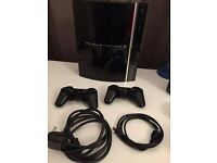"Sony Playstation 3 (PS3) 80GB ""Original"" Model Gaming Console + 2 Controllers"