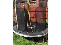 8foot trampoline excellent condition