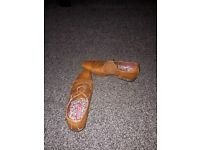 Brown brogues size 7