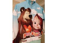 Masha And The Bear Tracksuits and swimming costume like new