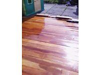 Garapa Brazilian hardwood decking