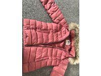 Designer puffer coat