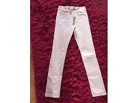 Next Girls light Pink Jeans age 12