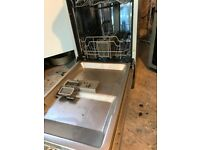 KENWOOD KDW45S16 Slimline Dishwasher - Silver