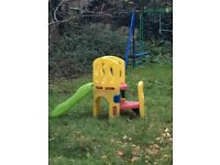 Toddler slide in good condition (barely used)