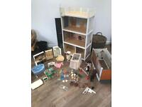Vintage Sindy House, Furniture, Stables & Doll
