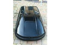 Car Roof Box (Sport Time) branded Volvo Manufactured by Thule