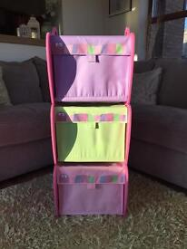 Stackable storage/toy boxes