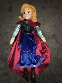 Frozen Anna soft doll and Minnie Mouse