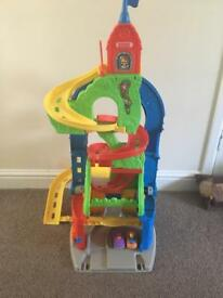 Fisher Price Sit or Stand Skyway Building Set