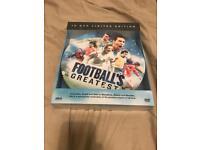 Footballs greatest dvd