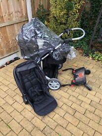 Set Mamas&Papas pram/pushchair + buggy board