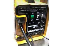 Monomig 101 Sureweld with gas bottle/helmet
