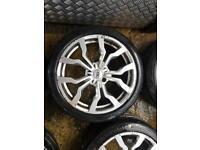 """18"""" AUDI R8 STYLE ALLOY WHEELS A3 A4 A5 A6 A8 alloy wheels SLINE"""