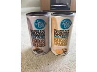Lucy Bee Fair Trade Organic Cacao Powder and Lucuma Powder