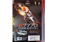 R7770 PC Graphics Card - Used, Excellent Condition