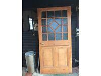 INTERNAL SOLID WOOD GLAZED DOOR