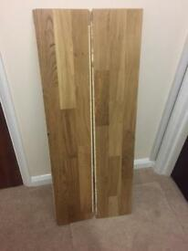 Engineered oak flooring new sealed