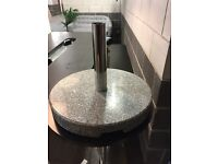 Granite parasol base, 30kg