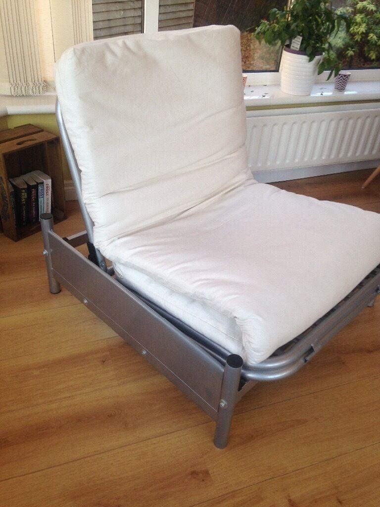Single Metal Futon Chair