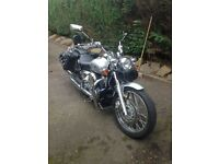 YAMAHA XVS650 DRAGSTAR CLASSIC 2003 FANTASTIC CONDITION ONLY 6,200 MILES