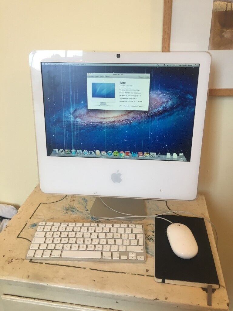 17-inch Apple iMac OS X (Late 2006 model) - with genuine Apple keyboard &  mouse | in New Town, Edinburgh | Gumtree